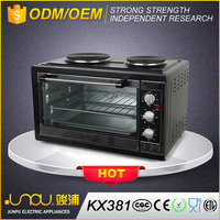 Factory directly 38L kitchen convection stove top pizza oven prices