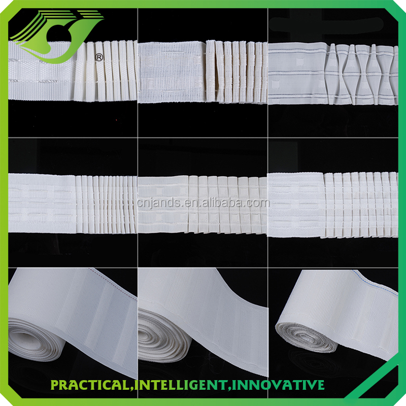 Best seller curtain hardware curtain heading polyester curtain pleat tape and accessories