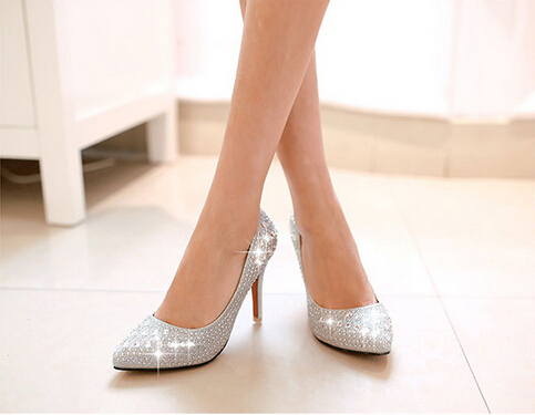 d51f28fd090 Get Quotations · Free Shipping 2014 Thin High Heels Women Pumps