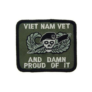 Vietnam Veterans patches/Damn Proud Patch
