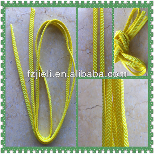 elastic cord flat shoelace without rubber for sale flat custom shoelaces