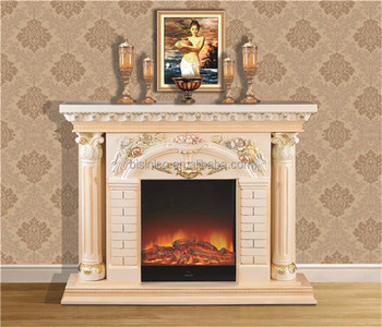 Palace Luxury Hand Painted Fireplace Mantel