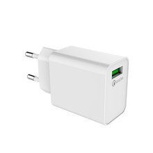 2018 New style QC3.0 quick charger smart mobile charger with EU plug