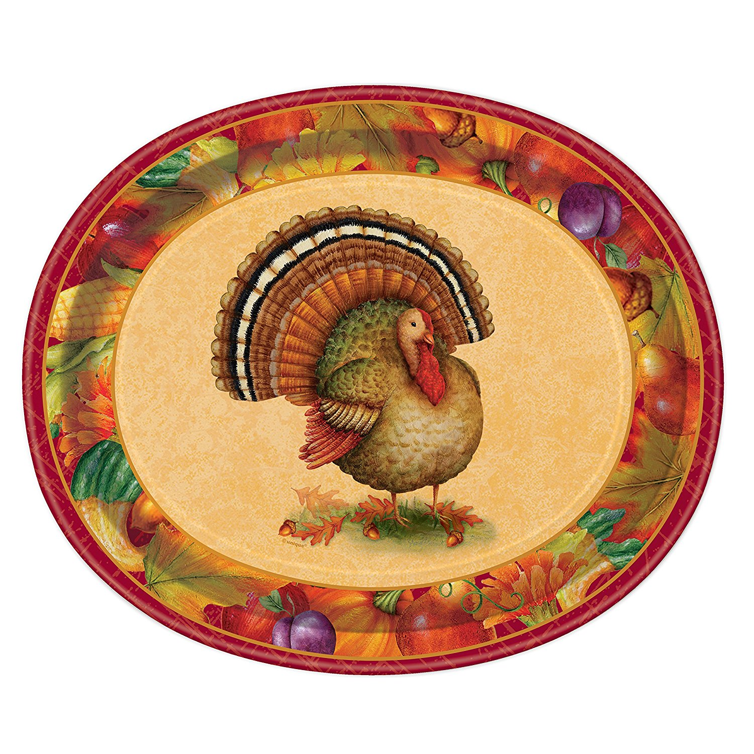 ... Festive Turkey Thanksgiving Oval Paper Plates 8ct  sc 1 st  Alibaba & Cheap Oval Paper Plates find Oval Paper Plates deals on line at ...