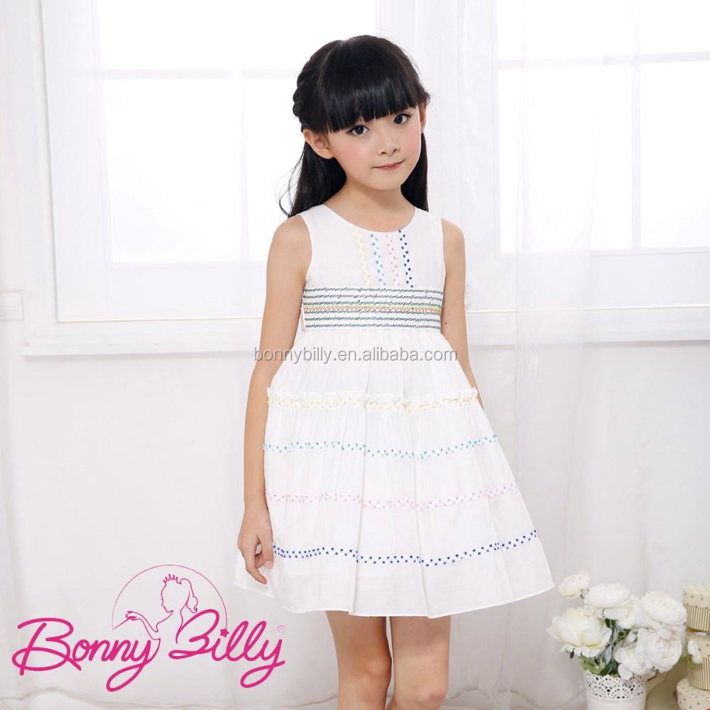 d0abe75701011 بابا المورد الصين بيضاء بلا أكمام بنات بدون ملابس صور، فستان بسيط للفتيات