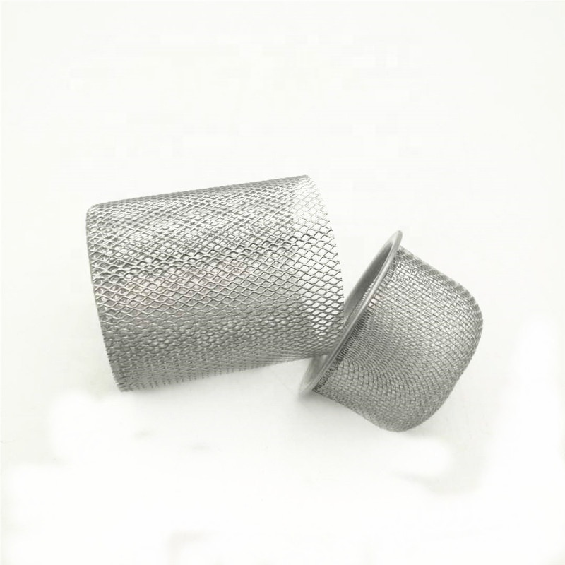 Customized seamless rim stainless steel wire mesh cover