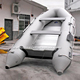 5 meters long 4 person commercial outdoor inflatable jet boat with aluminum floor from Guangzhou factory