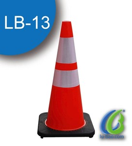 Customized Traffic Safety used t posts for sale PVC road cone