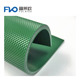 PVC belt 1.6mm green diamond top baggage conveyor belt