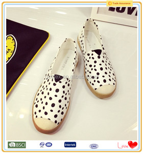 Hot fashion milk pattern fancy womens importers dubai shoes