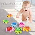 1pcs classical Toys Mini Clockwork Tortoise Baby Cute Animal Turtle Toys Newborn Wind Up Toys Random