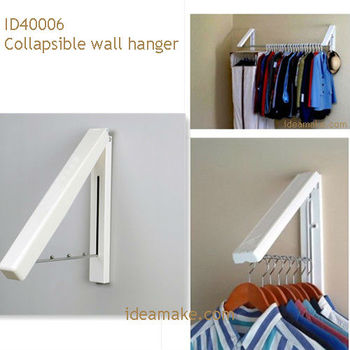 Wall Hanger For Clothes collapsible wall hanger,laundry room organizer/wall mounted