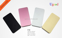 Aluminum power bank built in memory,Shenzhen manufactory slim travelling charger,5200mah laptop battery with unique design