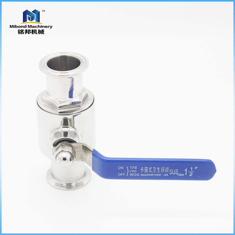 SS304/ 316L Sanitary 4 Inch Tri Clamp Ball Valves Manufacturer