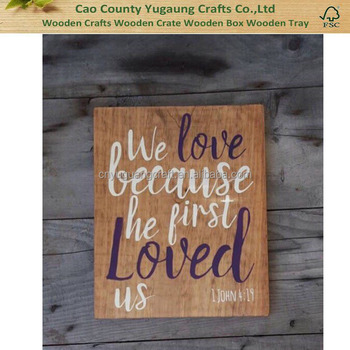 Wall Art Wood Signs Sayings - Buy High Quality Wood Signs,Wood Signs ...