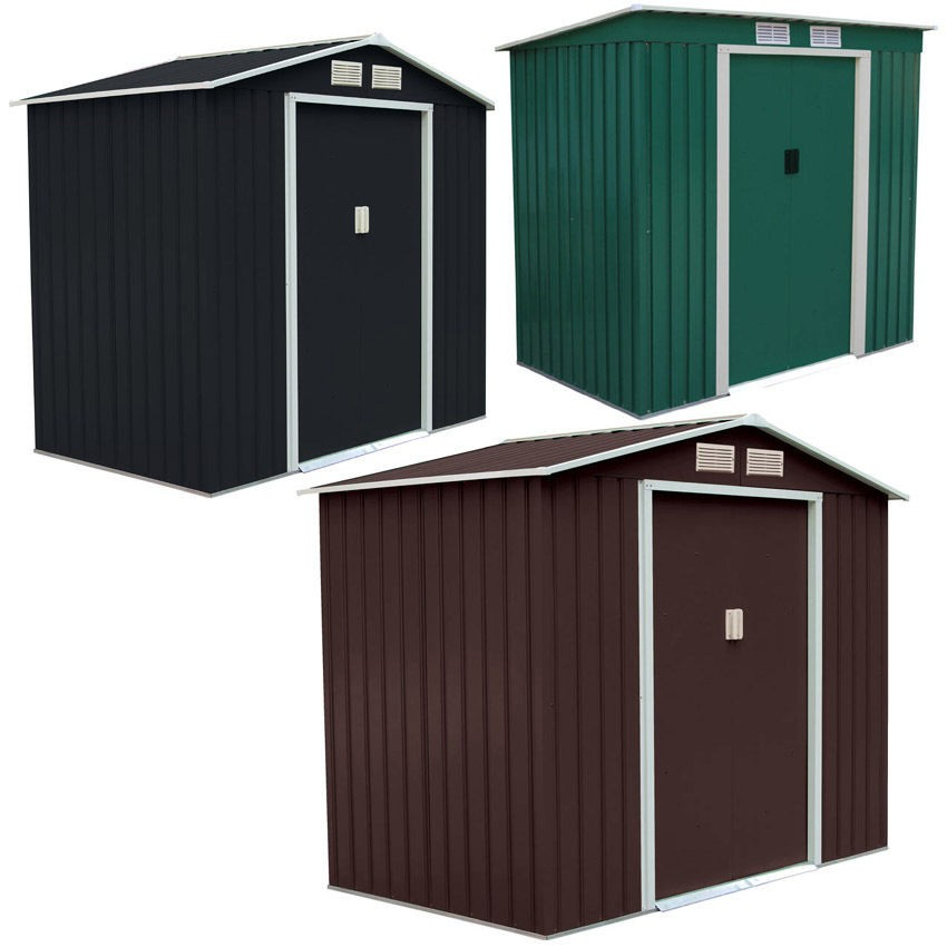 Metal storage sheds cheap boxer shed yardmaster bike for Outdoor storage sheds for sale cheap