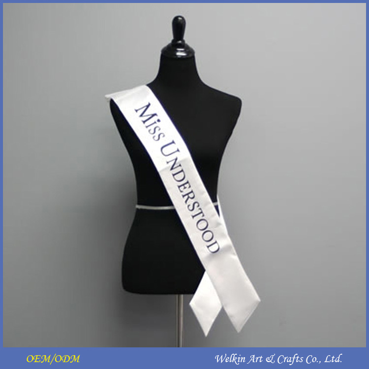Cheap china factory price event and party sash