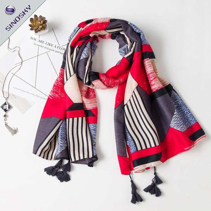 Venta al por mayor patrones bufandas tejidas-Compre online los ...