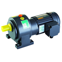 High speed mighty power electric AC motor specifications 1 hp gear motor
