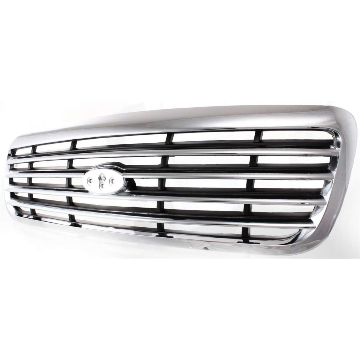 Diften 102-A2286-X01 - New Grille Assembly Chrome Ford Crown Victoria 2011 99 1999 FO1200346 6W7Z8200BA
