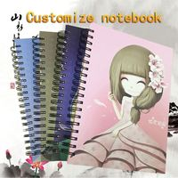 Office And School Stationery Custom Cheap A4 A 5 Single Spiral School Notebook