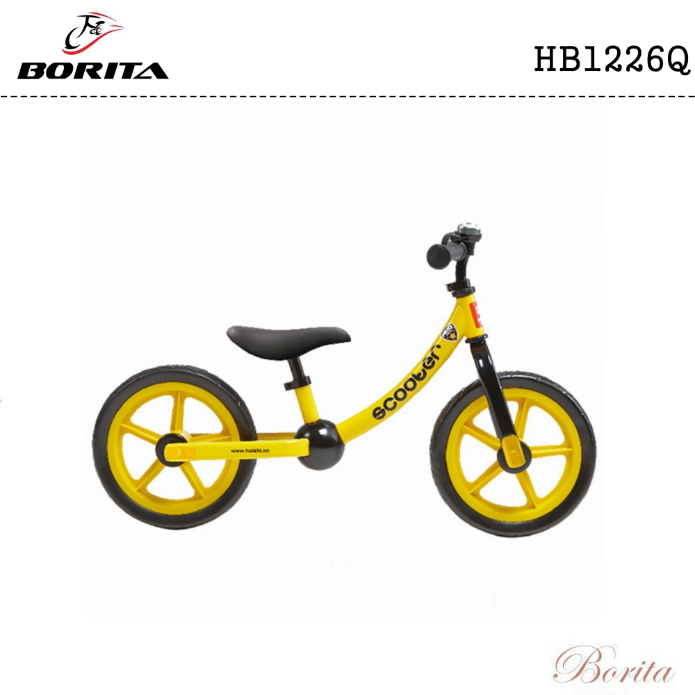 Cheap Price Popular Lovely 12 inch Kids Balance bike Without Pedal / Training bike
