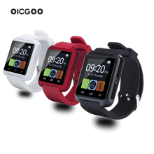 high quality Bluetooth Smart Watch U8 WristWatch digital sport watches for IOS Android Samsung phone Wearable Electronic Device