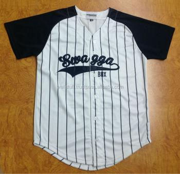 d31612ec088c7 De béisbol personalizada Camisas personalizado jerseys de béisbol de  encargo béisbol tops