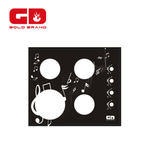 gas stove parts/parts of gas stove tempered glass panel