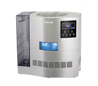 air purifier with hepa filter water based vacuum cleaner with hepa and UV light with patented water washing air technology