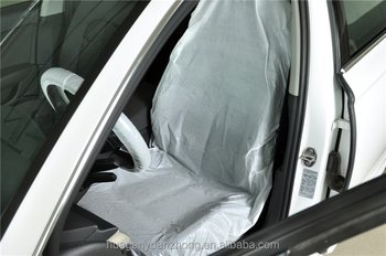 LDPE Disposable Plastic Clear Car Seat Covers For Auto