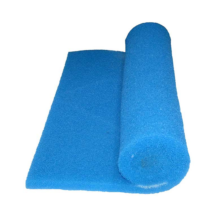 reticulated polyether aquatic filter foam
