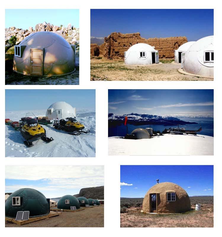 Hurricane Proof Dome Home: Hurricane Proof Dome Replace Used Prefab Shipping