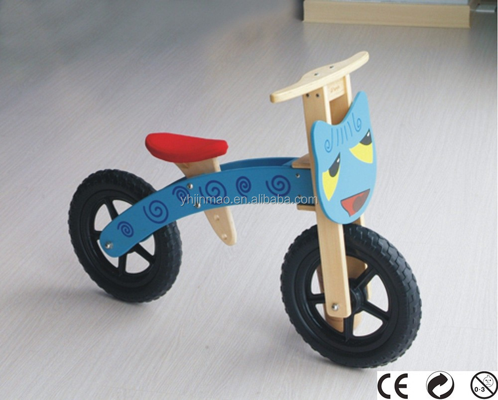 2015 most popular children wood mini bike bicycle models