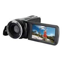 "FHD 1080P Video Camera camcorder with 3.0"" LCD 270 Degree Touchscreen 24MP 16X Digital Zoom"