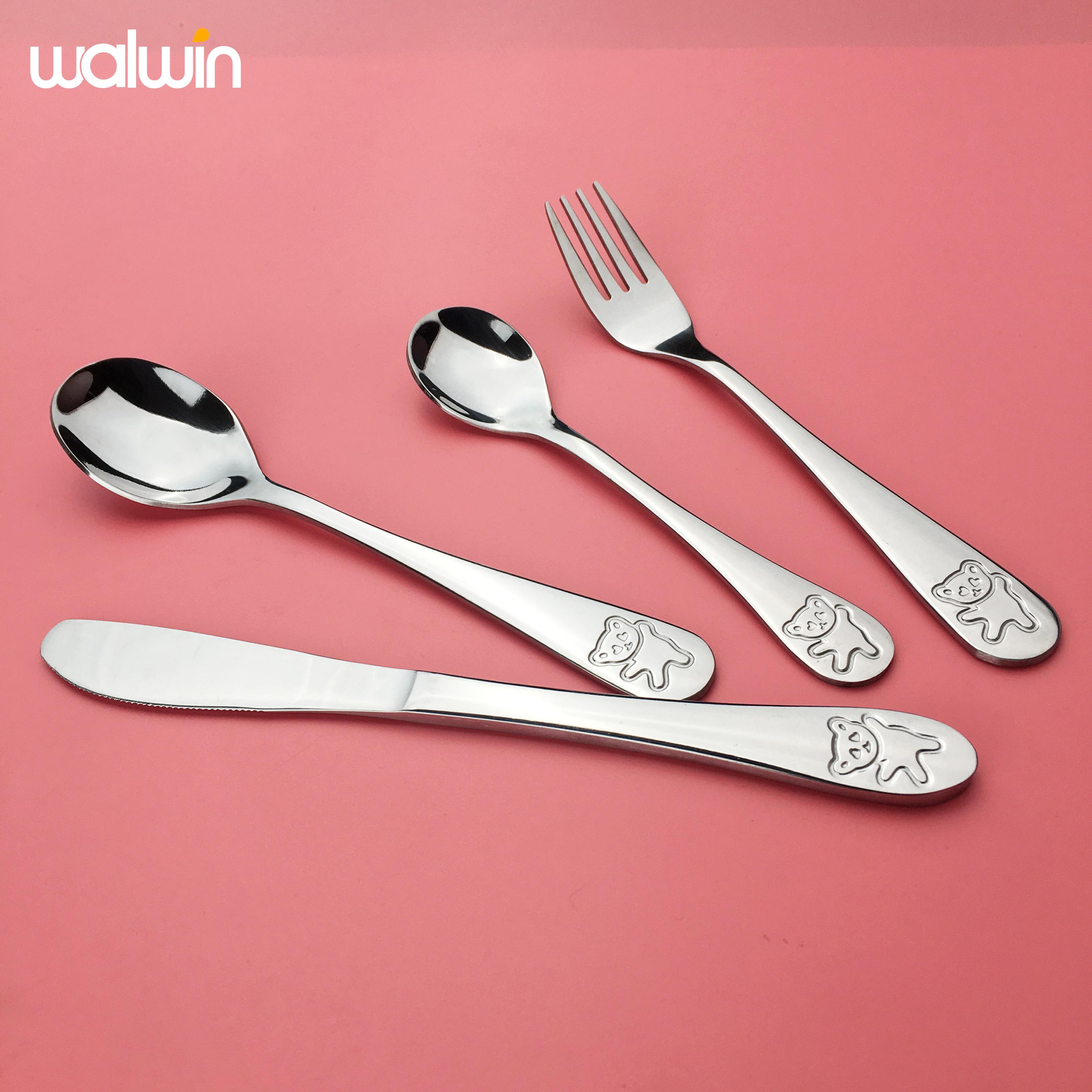 Высококачественная костная посуда леди Чайная Вечеринка керамическая десертная ложка Вилка Набор из 2 предметов