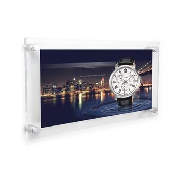 Double Panel 3 Openning 5x7 Acrylic Wall Mount Photo Frame Wholesale ...
