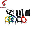 11PCS Fitness Látex Resistance Band Exercise Set