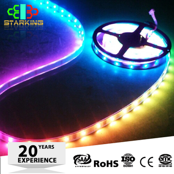 2016 New Product Rgb Pvc Color Changing Led Rope Light