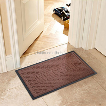 Whole Welcome Polyester Door Mats