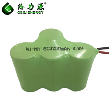 Replacement Power Tool SC3200mah 4.8V NIMH Battery Pack