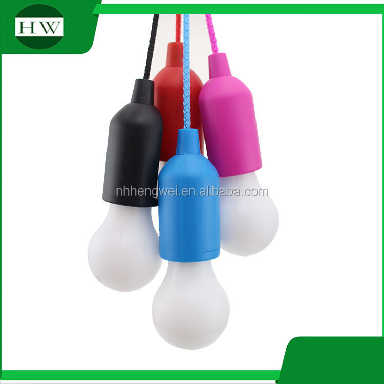 Bulb Shaped 1 Watt flashlight Bulb shape Tent Light Camping Light Pull Light