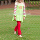 girls ruffle clothing christmas kids outfits