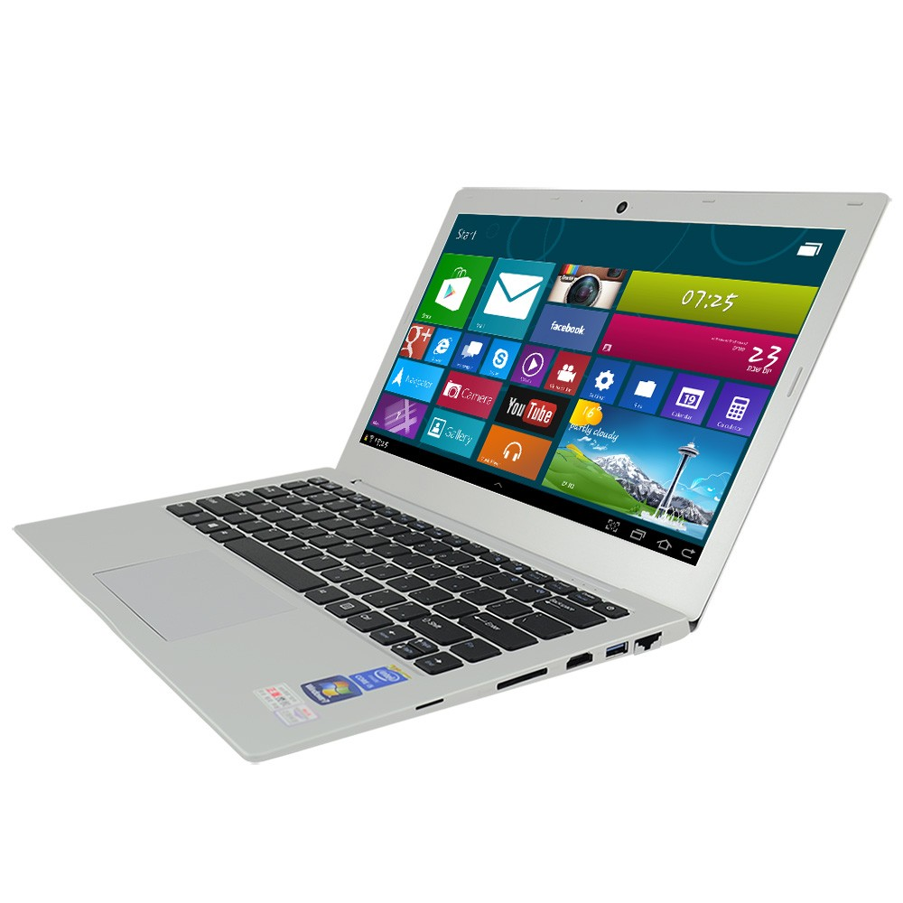 Factory wholesale Aluminum 14 inch Intel dual core i3 4100u 2G RAM 320G HDD laptops