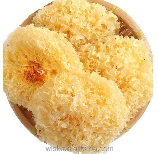 Organic New Free Ship Mushroom Wuyi Mountain Yin Er Tremella Mushrooms Dried Silver Ear White Snow Fungus