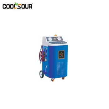 COOLSOUR Leakage Test A/C Refrigeration Recovery Recycling Recharging Station