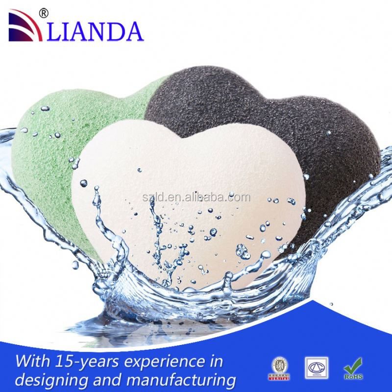 Ideal for all skin types, including very sensitive skin open cell silicone sponge