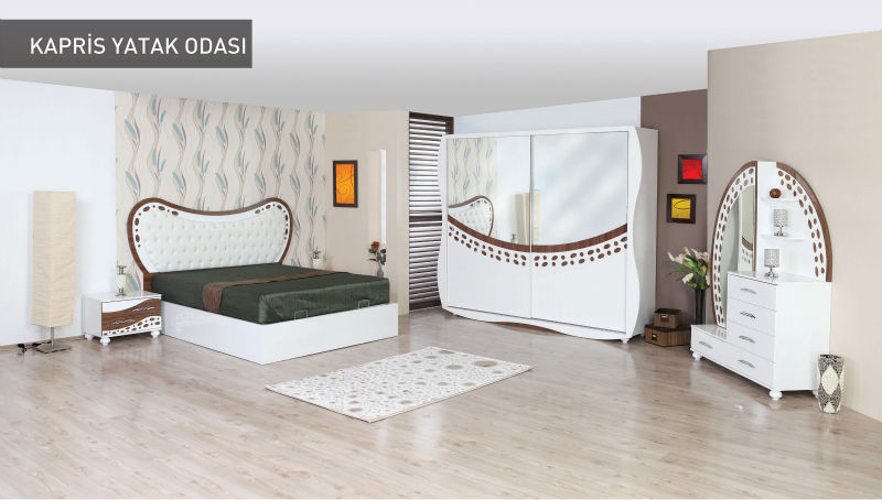 Modern Bedroom Furniture Set - Kapris - Product Code: 2800