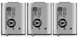 Replacement Telephone Battery for Panasonic HHR-P103 / P-P103 / HHR-P103A / N4HHGMB00001 / N4HHGMB00005 / N4HHGMN00001 / TYPE 25 / GE-TL26413 / CPH-490 (3-Pack)