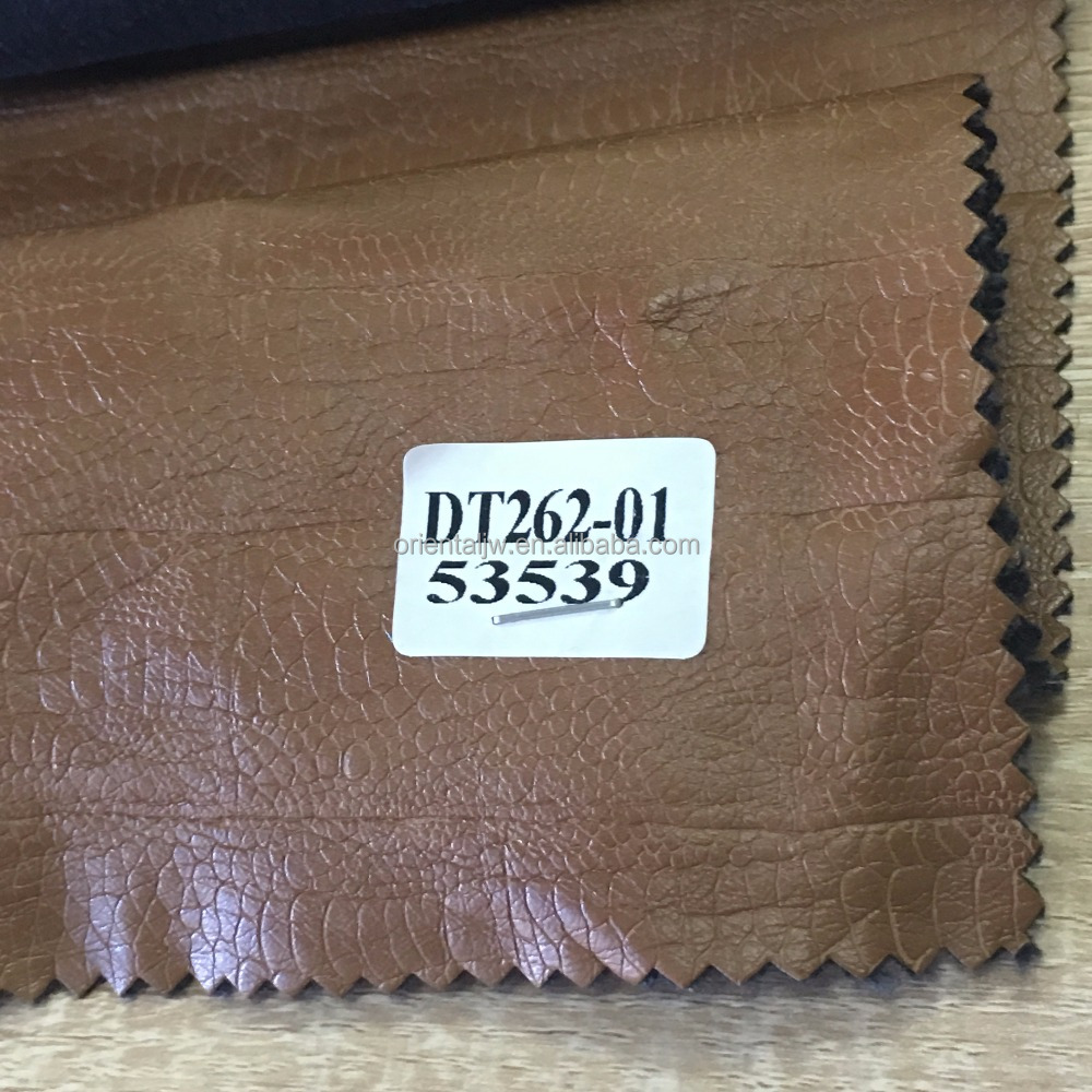 2016 custom prefer cheap artificial leather for clothing